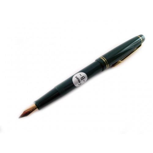 Pilot 78G Fountain Pen - Broad Nib - Green body
