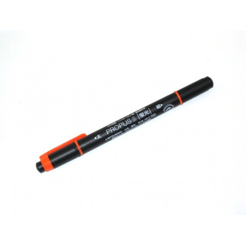 Uni Propus 2 Twin-headed Highlighter - Orange