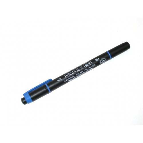 Uni Propus 2 Twin-headed Highlighter - Blue