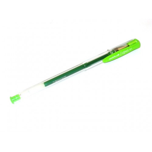 Uni Signo UM-100     0.7mm - Light Green