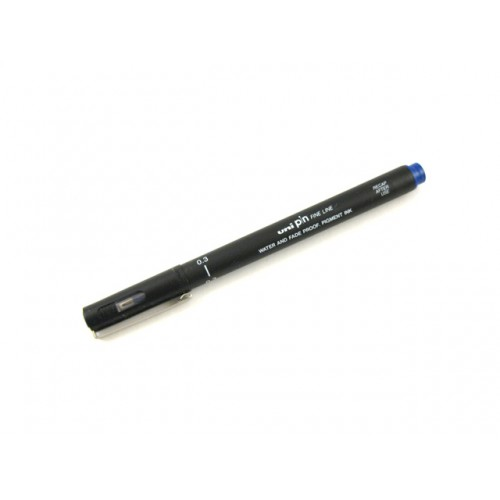 Uni Pin Fine Line    Drawing Pen -- 03 Blue