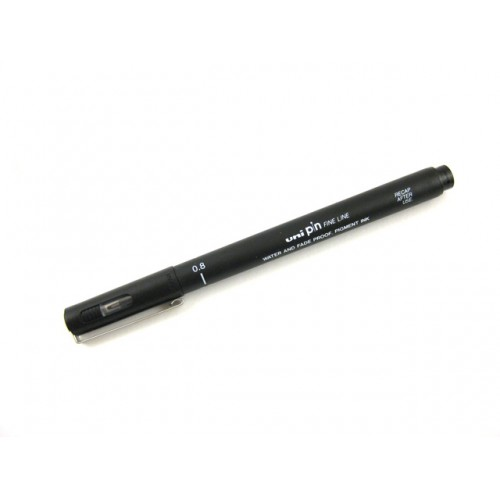 Uni Pin Fine Line    Drawing Pen -- 08 Black