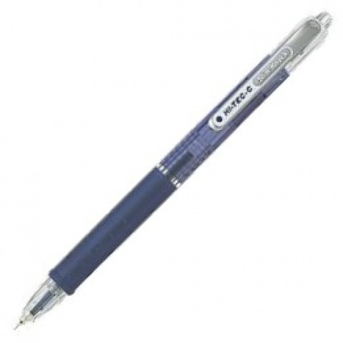 Pilot Hi-Tec-C Slim Knock 0.4mm - Blue Black