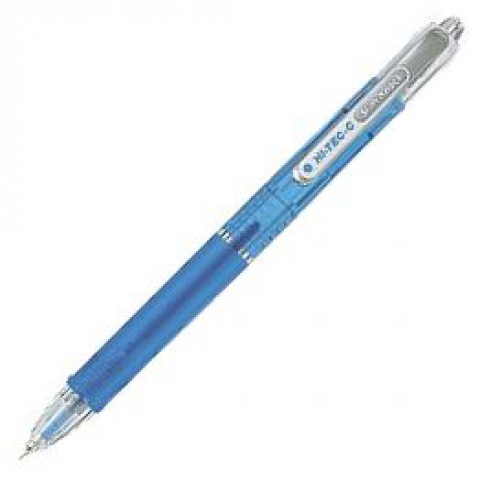 Pilot Hi-Tec-C Slim Knock 0.3mm - Clear Blue