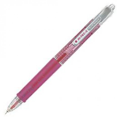 Pilot Hi-Tec-C Slim Knock 0.3mm - Pink