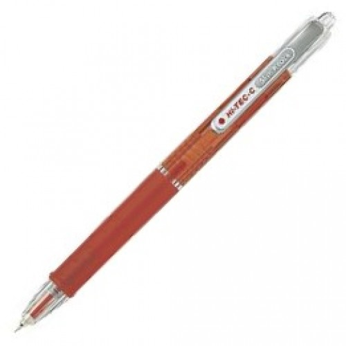 Pilot Hi-Tec-C Slim Knock 0.3mm - Red