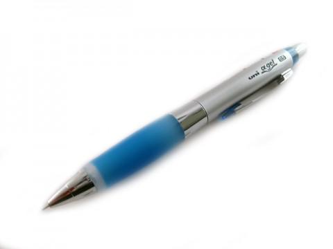 Uni Alpha Gel Shaker Mechanical Pencil - Royal Blue 0.5mm