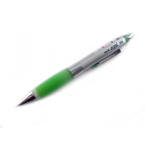 Uni Alpha Gel Shaker Mechanical Pencil - Yellow Green 0.5mm