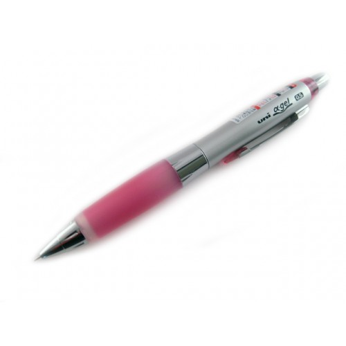 Uni Alpha Gel Shaker Mechanical Pencil - Rose Pink 0.5mm