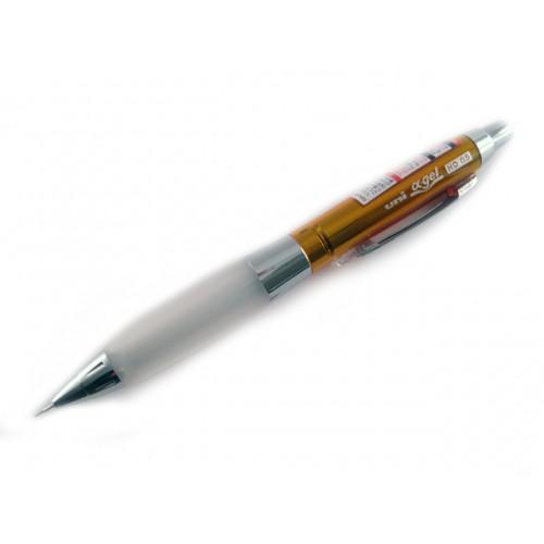 Uni Alpha Gel Shaka HD Shaker Pencil - Chrome Orange 0.5mm