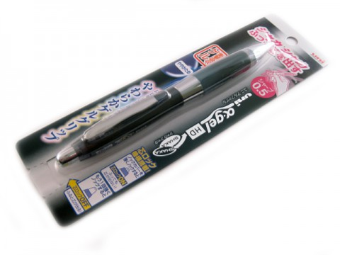 Uni Alpha Gel Shaka HD Shaker Pencil - Black 0.5mm