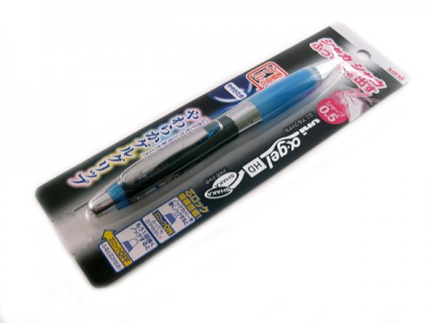 Uni Alpha Gel Shaka HD Shaker Pencil - Royal Blue 0.5mm