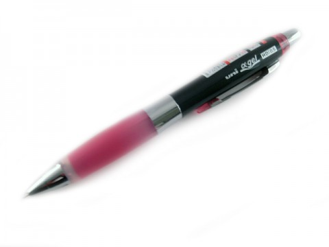 Uni Alpha Gel Shaka HD Shaker Pencil - Rose Pink 0.5mm