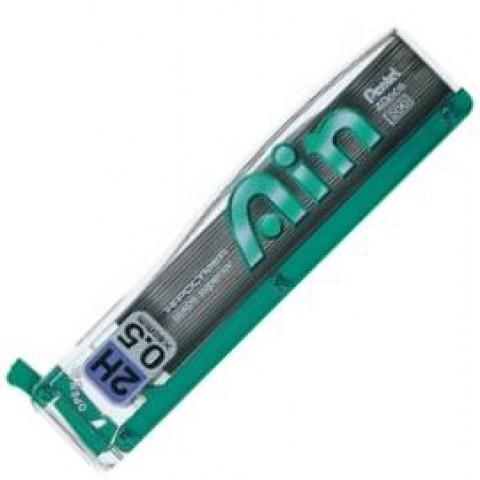 Pentel Hi-Polymer Ain Pencil Lead - 0.5mm - 2H