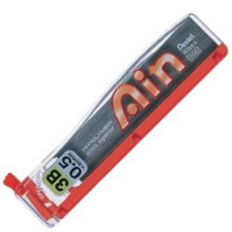 Pentel Hi-Polymer Ain Pencil Lead - 0.5mm - 3B