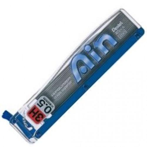 Pentel Hi-Polymer Ain Pencil Lead - 0.5mm - 3H