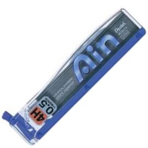 Pentel Hi-Polymer Ain Pencil Lead - 0.5mm - 4H