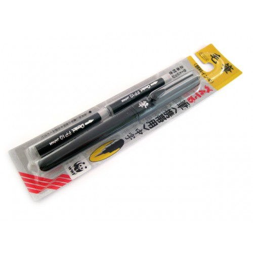 Pentel Pocket Brush Pen with 2 Ink Refills
