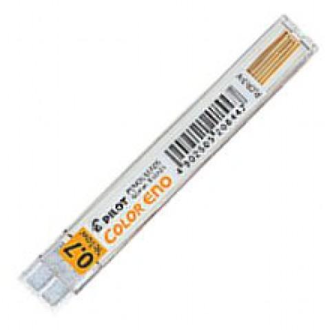 Pilot Color Eno 0.7mm Lead - Yellow (6)