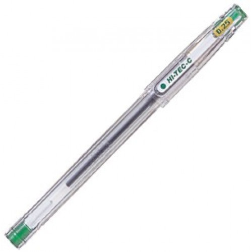 Pilot Hi-Tec-C 0.25mm  -  Green