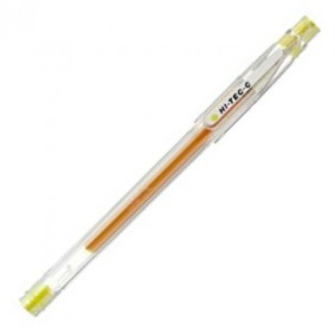 Pilot Hi-Tec-C 0.4mm  -   Yellow