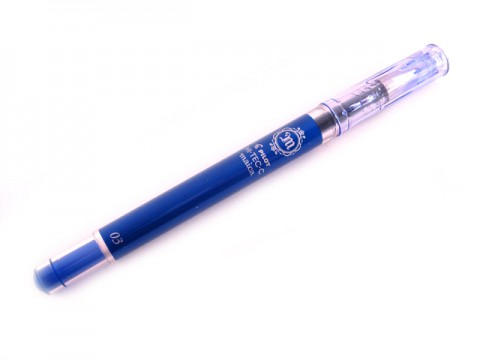 Pilot Hi-Tec-C Maica Gel Pen - 0.4mm - Blue