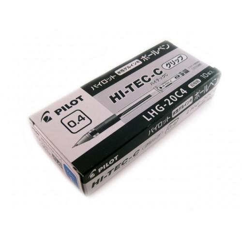 Pilot Hi-Tec-C 0.4mm  -   Blue (Box of 10)
