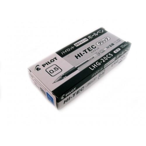 Pilot Hi-Tec-C 0.5mm  -   Blue (Grip Version) (Box of 10)