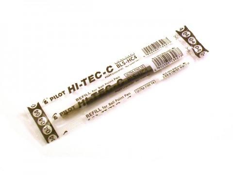 Pilot Hi-Tec-C 0.4mm - Black Refill