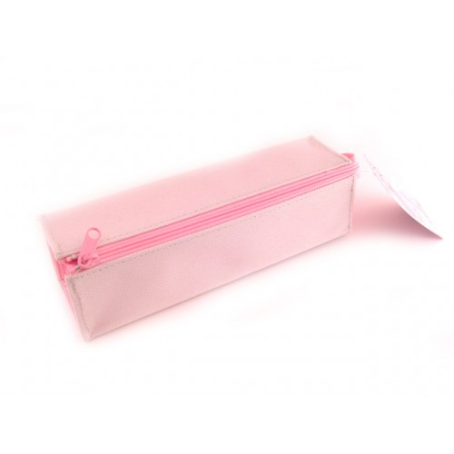 Kokuyo C2 Tray Type Pencil Case - Gray/Pink