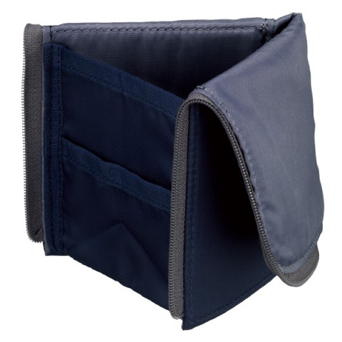 Kokuyo Neo Critz Flat Transformer Pencil Case - Navy