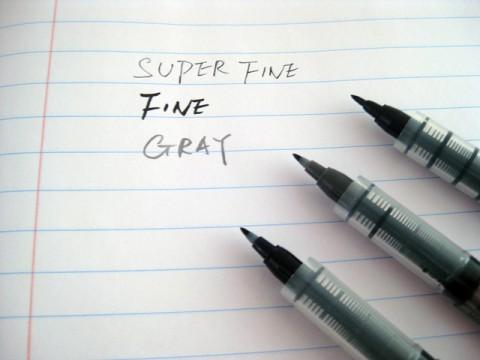 Kuretake Fudegokochi Brush Pen - Super Fine