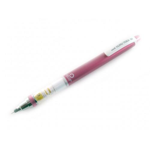 Uni Kuru Toga Mechanical Pencil - Pink Body 0.3mm