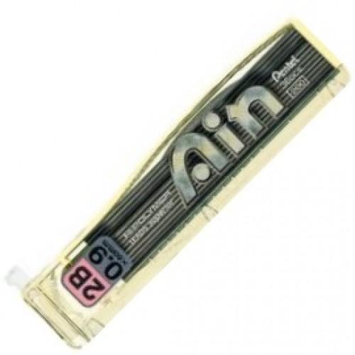 Pentel Hi-Polymer Ain Pencil Lead - 0.9mm - 2B