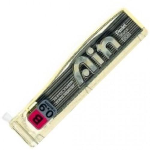 Pentel Hi-Polymer Ain Pencil Lead - 0.9mm - B