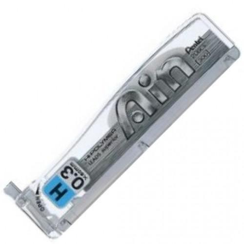 Pentel Hi-Polymer Ain Pencil Lead - 0.3mm - H