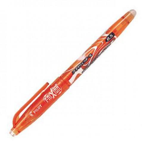 Pilot FriXion 0.5mm Erasable Pen - Orange