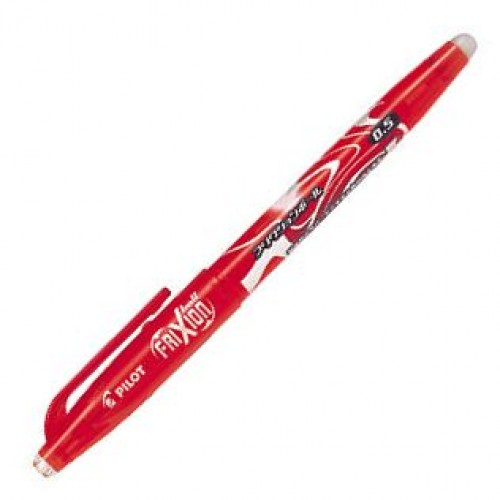 Pilot FriXion 0.5mm Erasable Pen - Red