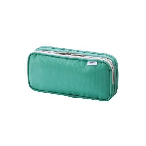 Lihit Lab Smart Fit Double Pencil Case - Small - Green