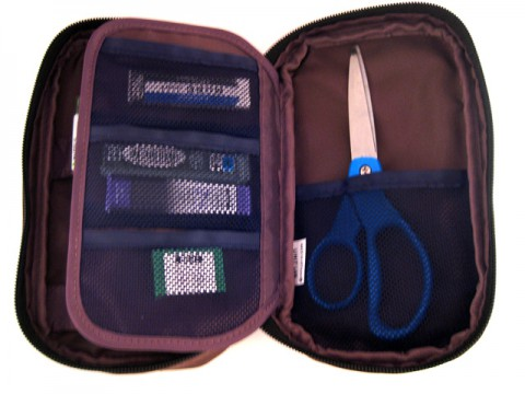 Lihit Lab Teffa Pencil Case - Brown