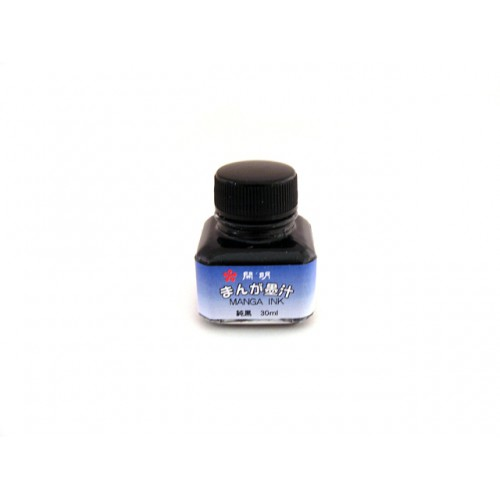 Kaimei Manga Pen Ink - 30 ml Bottle - Black