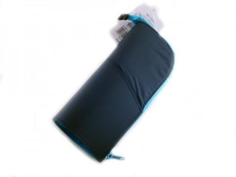 Kokuyo Neo Critz Transformer Pencil Case - Double Zipper - Dark Blue/Light Blue
