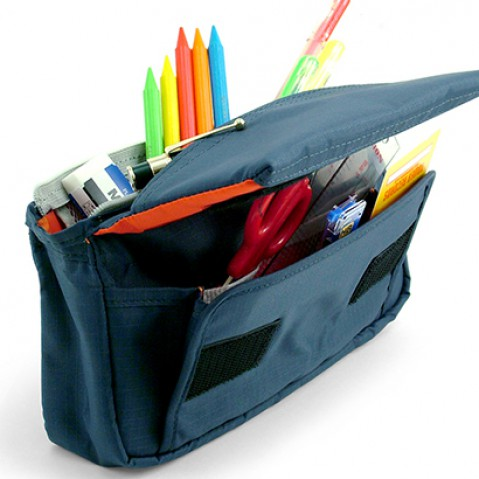Nomadic PE-09 Flap Type Pencil Case - Navy