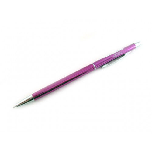 Ohto Needle Point Slim Ballpoint Pen - 0.3mm - Purple Body