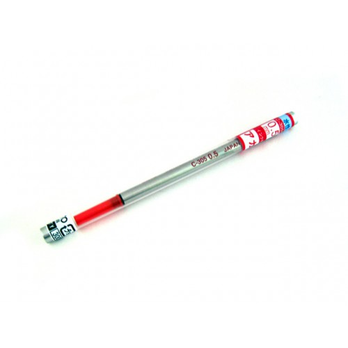 Ohto C-305P Ceramic Roller Ball Pen Refill - 0.5 mm - Red