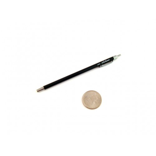 Ohto Minimo Ballpoint Pen with Holder - 0.5 mm - Black