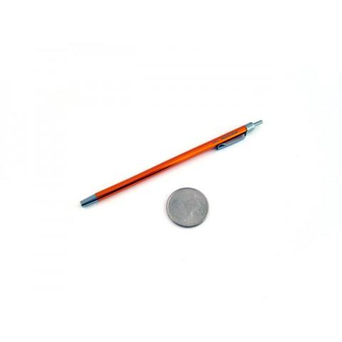 Ohto Minimo Ballpoint Pen with Holder - 0.5 mm - Orange