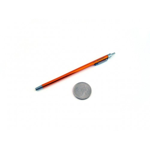 Ohto Minimo Ballpoint Pen with Holder - 0.5 mm - Orange