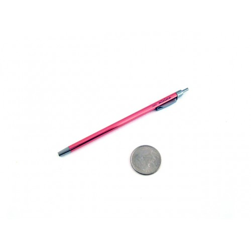 Ohto Minimo Ballpoint Pen with Holder - 0.5 mm - Pink