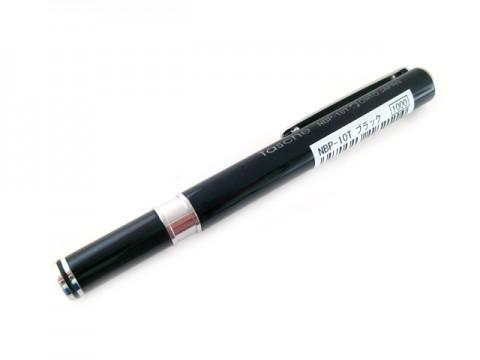 Ohto Tasche Needle Point Ballpoint Pen - 0.7mm - Black Body